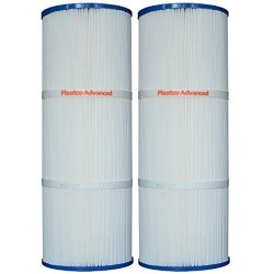 Pleatco Advanced PLBS75 Spa Filter Replacement Cartridge for Rainbow (2 Pack)