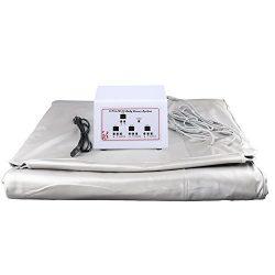 Vogvigo Far Infrared Sauna Blanket Sliming Blanket Weight Loss Sauna Detox Therapy Machine 3 Zone