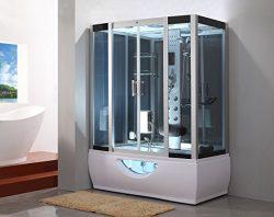 Kokss Steam Shower Room GT007 Whirlpool Tub 6 Body Massage Jets