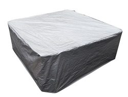 hot tub cover cap 96″x96″x35″(244x244x90cm)spa sun shield for hash weather