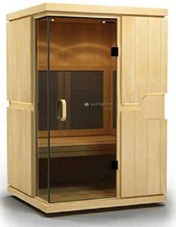 Sunlighten mPulse Believe Infrared Basswood Home Sauna