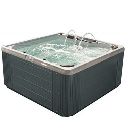Essential Hot Tubs SS2540307403 Adelaide Hot Tub, Grey