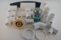 Jacuzzi BMH repair kit with flex glue almond HC31914 with dvd tutorial