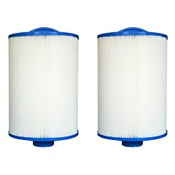 Pleatco 47 Sq Ft Advanced LA Aber Dolphin Hot Tub Spa Filter Cartridge (2 Pack)