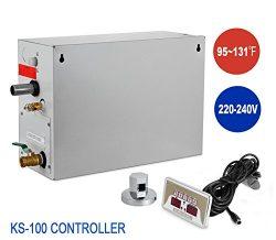 Happybuy 9 KW Steam Generator Sauna Bath Steamer for Home SPA Shower with Waterproof Programmabl ...