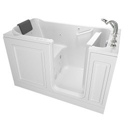 American Standard 3260.219.CRW Acrylic Luxury Series 32″ x 60″ Walk-In Bathtub with  ...