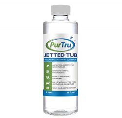 Jetted Tub and Plumbing System Cleaner – All Natural and Safe Cleaner For Whirlpool, Jacuz ...