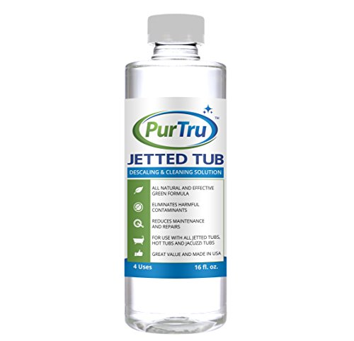 Jetted Tub And Plumbing System Cleaner All Natural And