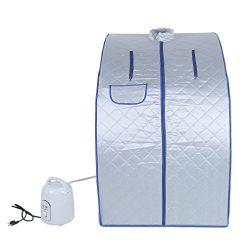 Nexttechnology Lightweight Personal Steam Sauna, Rejuvenator Portable Indoor Therapeutic Steam S ...