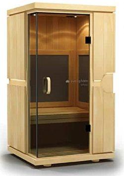 Sunlighten mPulse Aspire Infrared Basswood Home Sauna