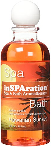 inSPAration 217X Hawaiian Sunset Spa and Bath Fragrance, 9-Ounce