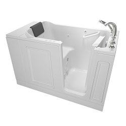 American Standard 3051.119.CRW Acrylic Luxury Series 30″ x 51″ Walk-In Bathtub with  ...