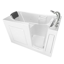 American Standard 3060.109.WRW Gelcoat Premium Series 30″ x 60″ Walk-In Bathtub with ...