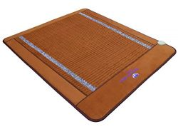 "Far Infrared Amethyst Mat Queen Size 75″L x 59""W – Made in Korea – Deep Penetr ..."