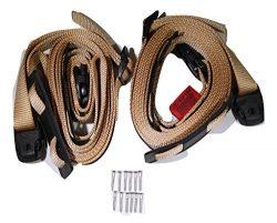 Tan Spa Cover Hot Tub Wind Strap Complete Kit Nexus Locks