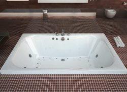 Atlantis Whirlpools 4060nwr Neptune Rectangular Whirlpool Bathtub, 40 X 60, Center Drain, White