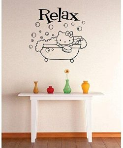 Top Selling Decals – Prices Reduced : Best Selling Cling Transfer : Hello Kitty Bubble Bat ...