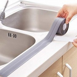 KaLaiXing Tub And Wall Caulk Strip. Kitchen Caulk Tape Bathroom Wall Sealing Tape Waterproof Sel ...