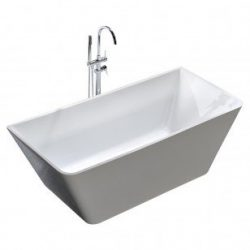 Free Standing Bath Tub Thin Edge 1500 x 750 x 600 Freestanding