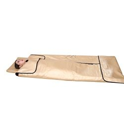 SPORT&SAUNA Infrared Sauna Blanket Three Multiple Far Infrared 360 Degree Heating Automatic  ...