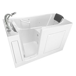 American Standard 3060.109.CLW Gelcoat Premium Series 30″ x 60″ Walk-In Bathtub with ...