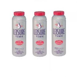 LEISURE TIME 22337 Spa 56 Chlorinating Granules – 3 Packs