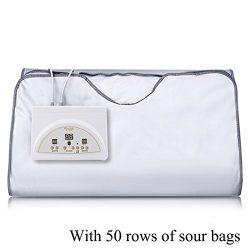 SPORT&SAUNA Infrared Sauna Blanket Supply Digital Far-Infrared (FIR) Heat Sauna Blanket With ...