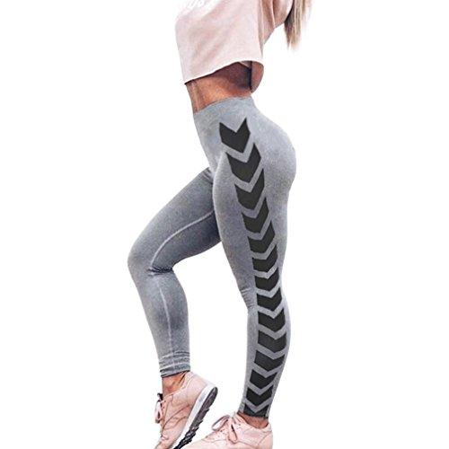 AmyDong Yoga Pants, Womens Leggings Print Skinny Workout Gym Fitness Sports Cropped Yoga Pants E ...