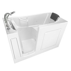 American Standard 3060.109.WLW Gelcoat Premium Series 30″ x 60″ Walk-In Bathtub with ...