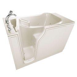 American Standard SSA5230LA-BC Gelcoat Entry Series 52″ x 30″ Walk-In Bathtub with A ...
