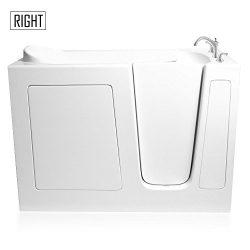 Ariel EZWT-2651-DUAL-R Walk-In-Bathtub, White