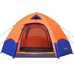 Camping Tent HOSPORT 4 6 Person Tent Pop Up Instant Automatic Backpacking Dome Tents Waterproof  ...