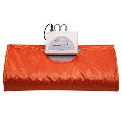 SPORT&SAUNA Sauna Blanket Far Infrared Sauna Blanket Body Shaper Weight Loss Sauna Slimming  ...