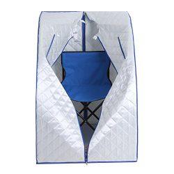 Heaven Tvcz Steam Sauna Spa Therapeutic Slimming Detox Portable 2L Steamer Machine Body Home