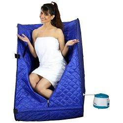 Kawachi Portable Folding Safe Personal Steam Bath For Relaxation at Home Rejuvenator Lightweight ...