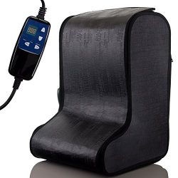Portable Infrared Foot Sauna Heat Massage by Durasage w/ Handheld Controller, up to 60min timer, ...