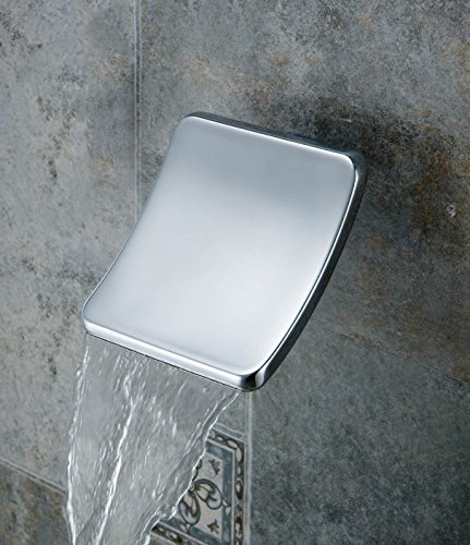 Aquafaucet Waterfall Wall Mount Sheet Flow Non Diverter