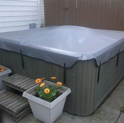 Replacement Hot Tub Covers – Soft Spa Cover (Avail in Grey only – 4 sizes available) ...