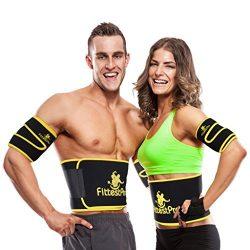 Fittest Pro Waist Trimmer Slimming Flex Sauna Belt – Belly, Fat Loss, Weight Loss Belt &#8 ...