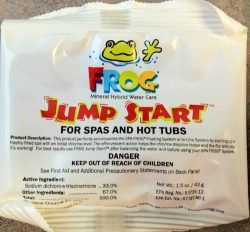 2 Pack Hot Tub Spa Frog Jump Start Chemical Mineral Pack 01-14-6012 ,-WH#G4832 TYG43498TY4-U804244