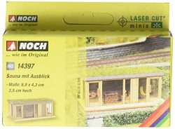 Noch 14397 Sauna W/View H0 Scale  Model Kit
