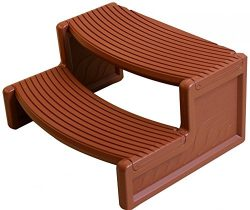 VirtualSurround HS2 Rosewood Resin Handi-Step For Spa and Hot Tubs