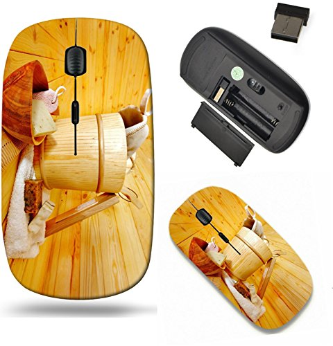 Liili Wireless Mouse Travel 2.4G Wireless Mice with USB Receiver, Click with 1000 DPI for notebo ...