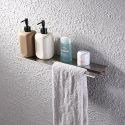KES Bathroom Shower Shelf Stainless Steel 18-Inch or 45 CM Shower Caddy Bath Kitchen Floating Sh ...