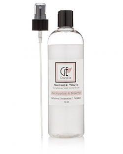 Eucalyptus Steam Shower Spray Essential Oil Aromatherapy for Sauna, Shower, Room Spray, Deodoriz ...