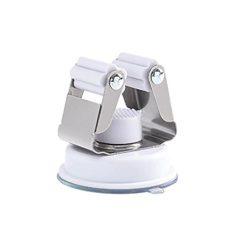 YJYDADA Traceless Sucker Hook Mop Holder Wall Mounted Kitchen Bathroom Suction Cup (White)