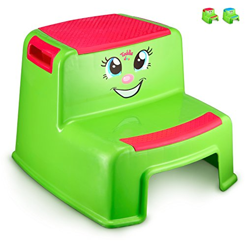 Step Stools for Kids – Toddlers Potty Step Stool for Toilet Training – Dual Height T ...