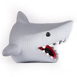 Shark water faucet extender protector cover bathroom bathtub kitchen tub sink for toddlers kids baby