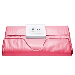 Binglinghua® Sauna Blanket Heating Automatic Sleep Weight Lose Detox Steam Blanket (pink)