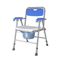 Bedside Commodes III- Free Assembly Lift Chair, Portable Bath Seat, Adjustable Shower Bench, Whi ...